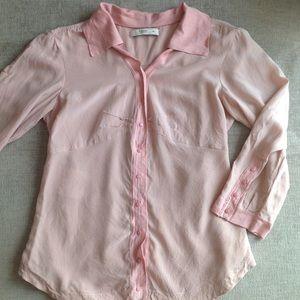 Stunning Prada runway silk blouse shirt top 38 XS